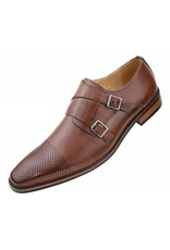 Amali Amali Deming Dress Shoe - Cognac