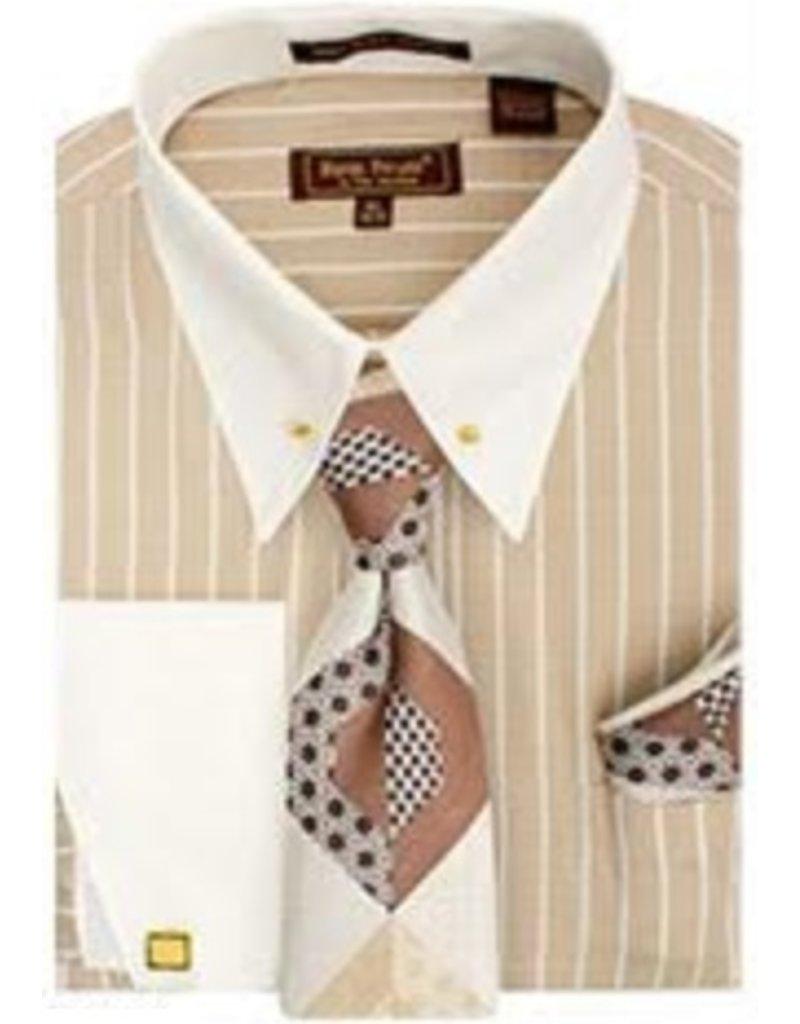 Henri Picard Henri Picard Shirt Set FC167 Taupe