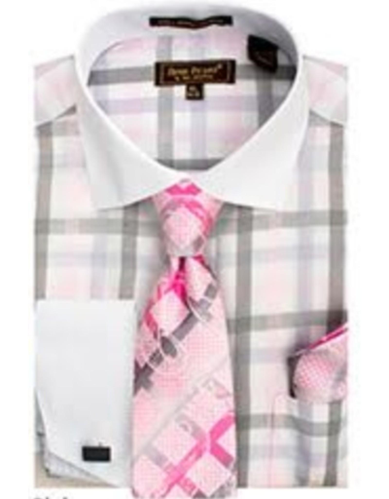 Henri Picard Henri Picard Shirt Set FC165 Pink