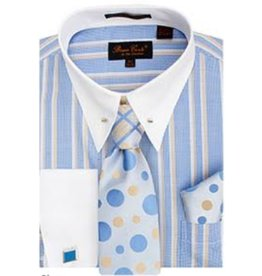 Henri Picard Henri Picard Shirt Set CS057 Blue