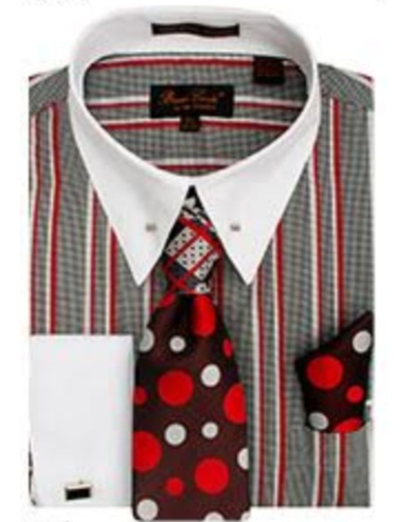 Henri Picard Henri Picard Shirt Set CS057 Red