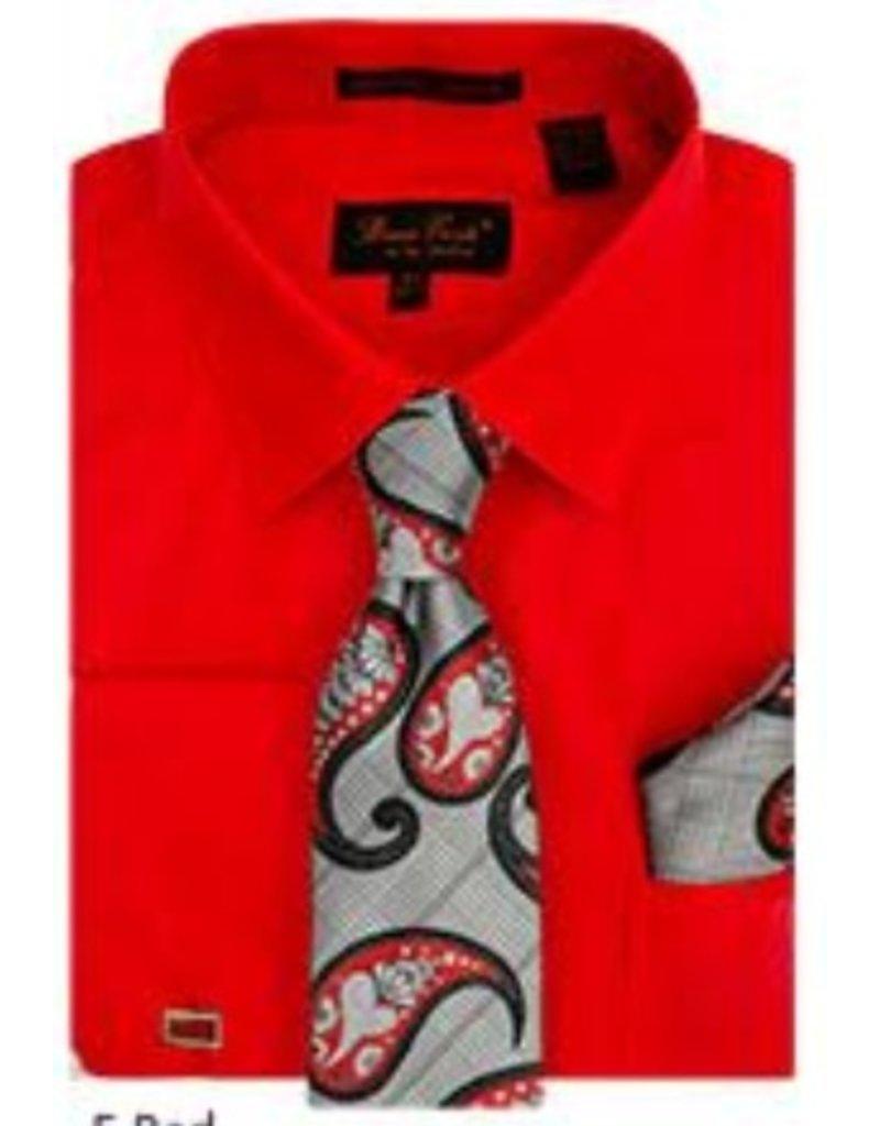 Henri Picard Henri Picard Shirt Set BC1082 Red