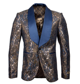 Empire Empire Blazer - ME262H Blue/Gold