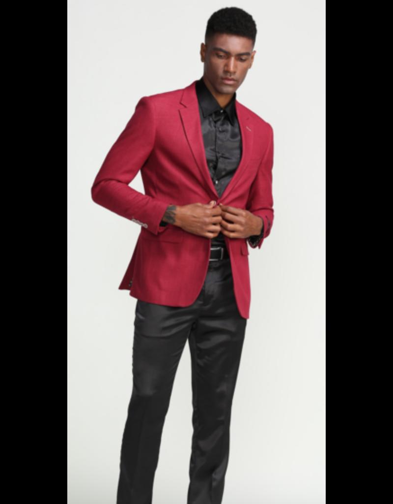 Tazio Tazzio Wool Blazer - MJ288S Burgundy