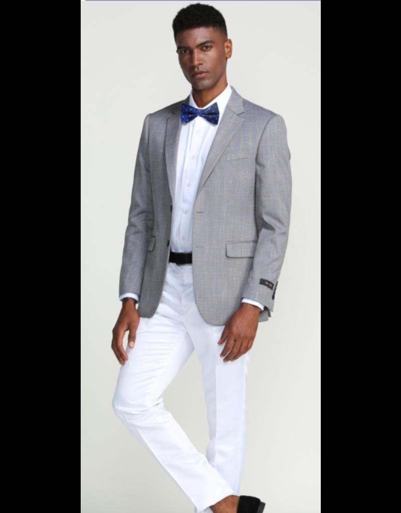 Tazio Tazzio Wool Blazer - MJ283S Gray