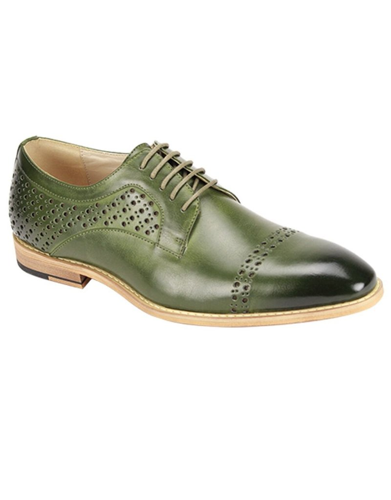 Antonio Cerrelli Antonio Cerrelli 6812 Dress Shoe - Olive