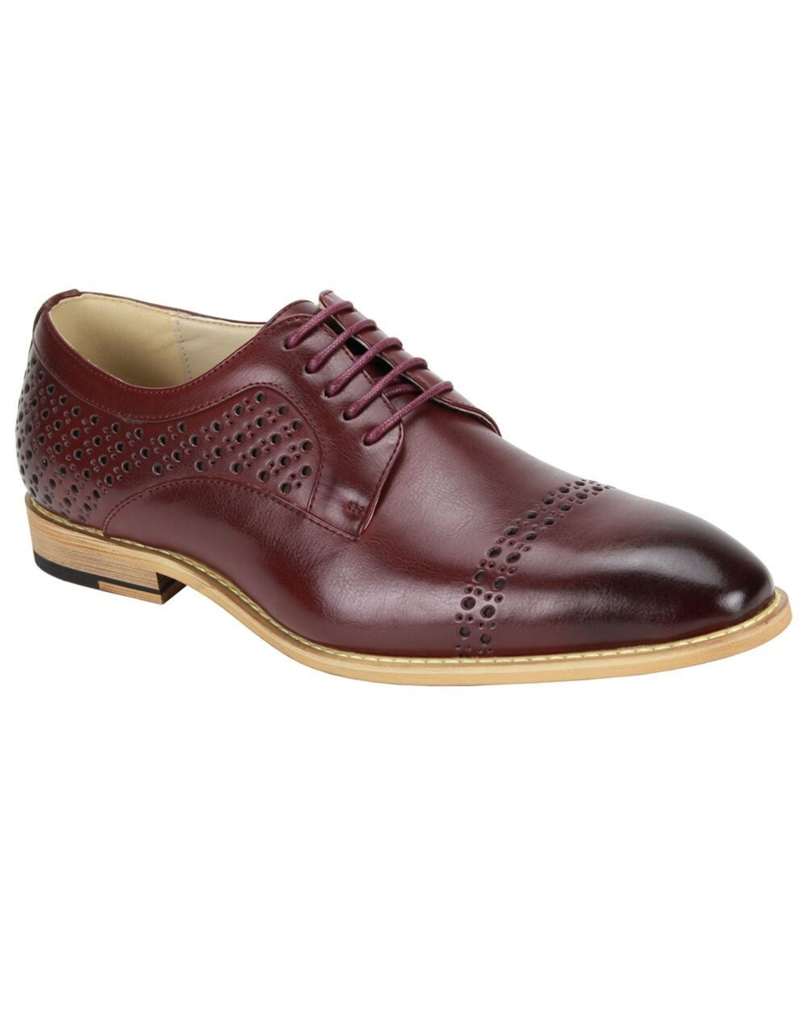 Antonio Cerrelli Antonio Cerrelli 6812 Dress Shoe - Burgundy
