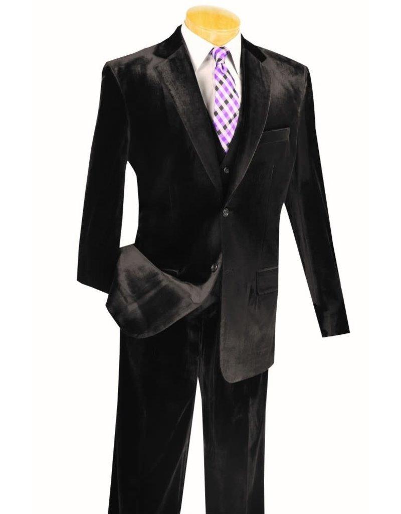 Vinci Vinci Velvet Suit - V2VV Black