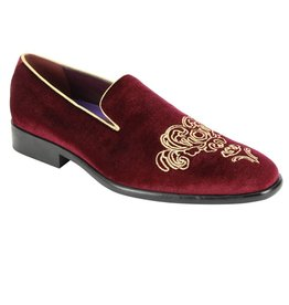 After Midnight After Midnight Formal Shoe - 6823 Wine/Gold