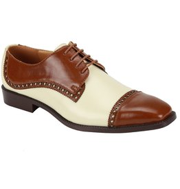 Antonio Cerrelli Antonio Cerrelli 6807 Dress Shoe - Tan/Ice