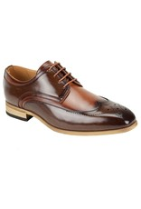 Antonio Cerrelli Antonio Cerrelli 6809 Dress Shoe - Brown/Tan