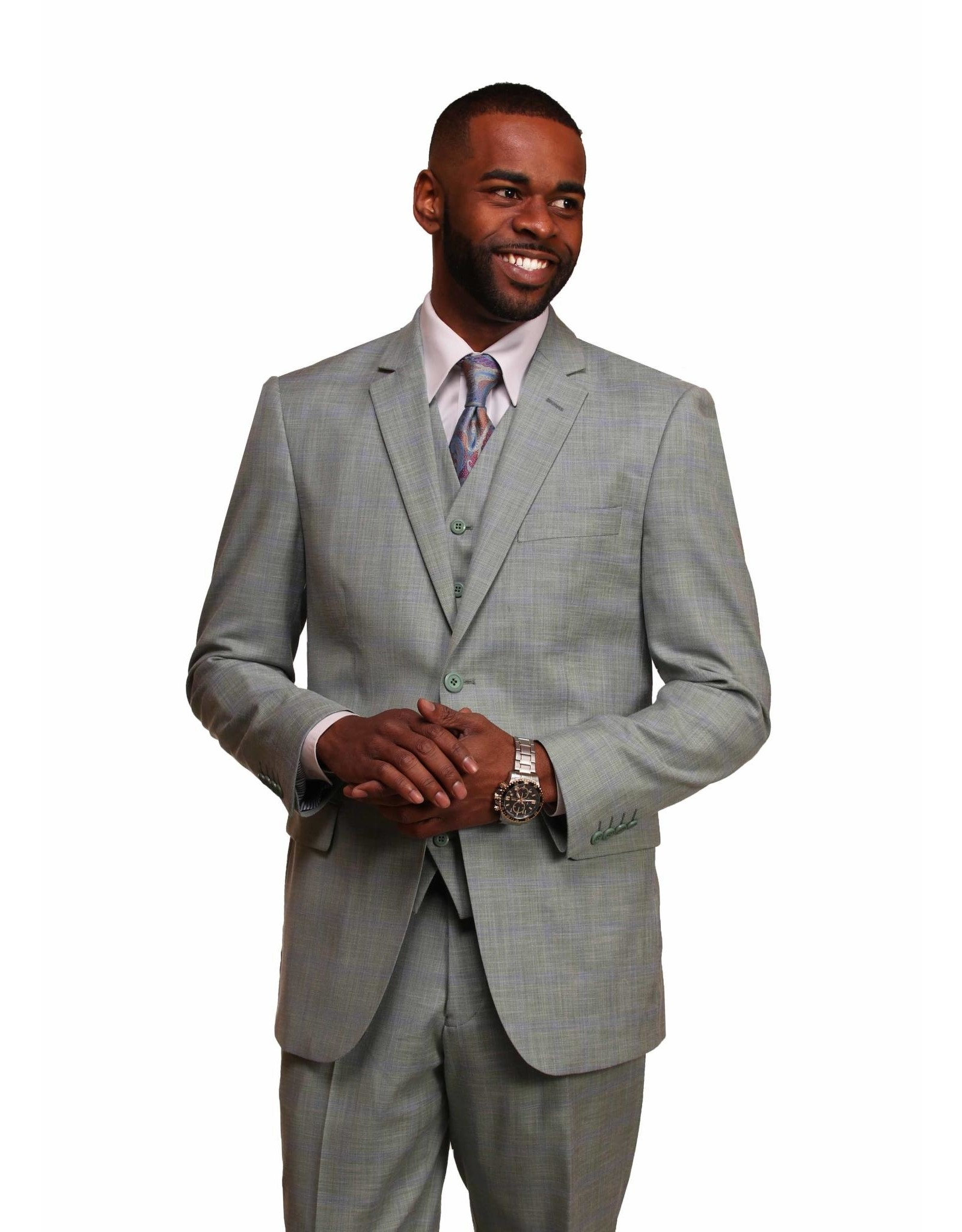 Vitali Vitali Vested Suit - M1803 Mint
