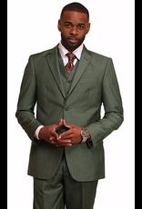 Vitali Vitali Vested Suit - M4110 Green