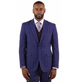 Vitali Vitali Vested Suit - M1810 Navy