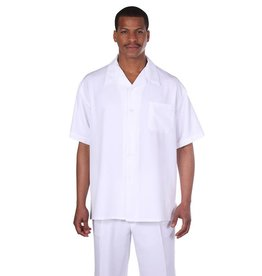 Fortino Landi Fortino Lando Short Sleeve Set - M2954 White