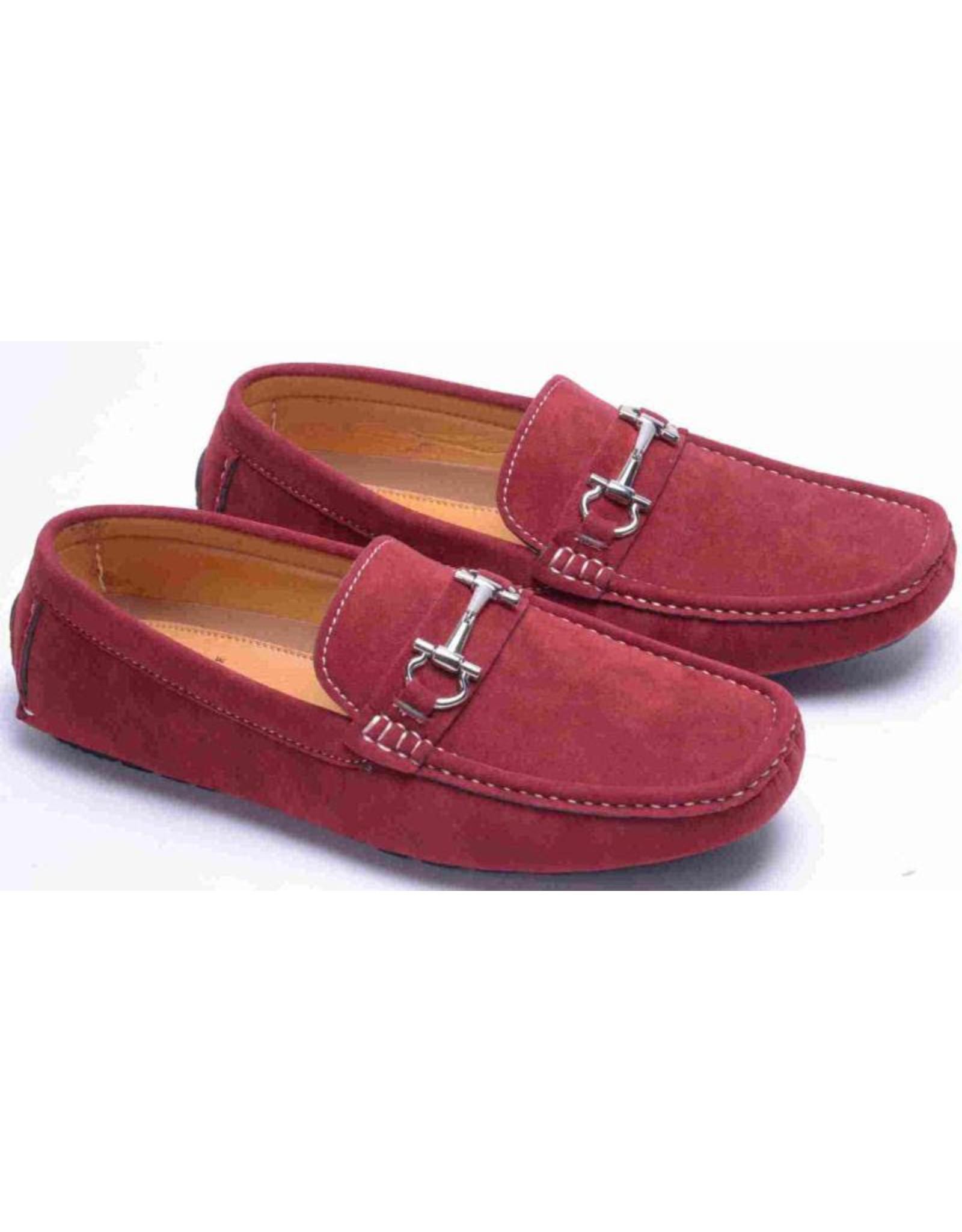 Montique Montique Casual Shoe S11 Burgundy