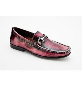 Montique Montique Casual Shoe S07 Burgundy