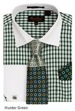 Bruno Conte Bruno Conte Shirt Set CS065 Green
