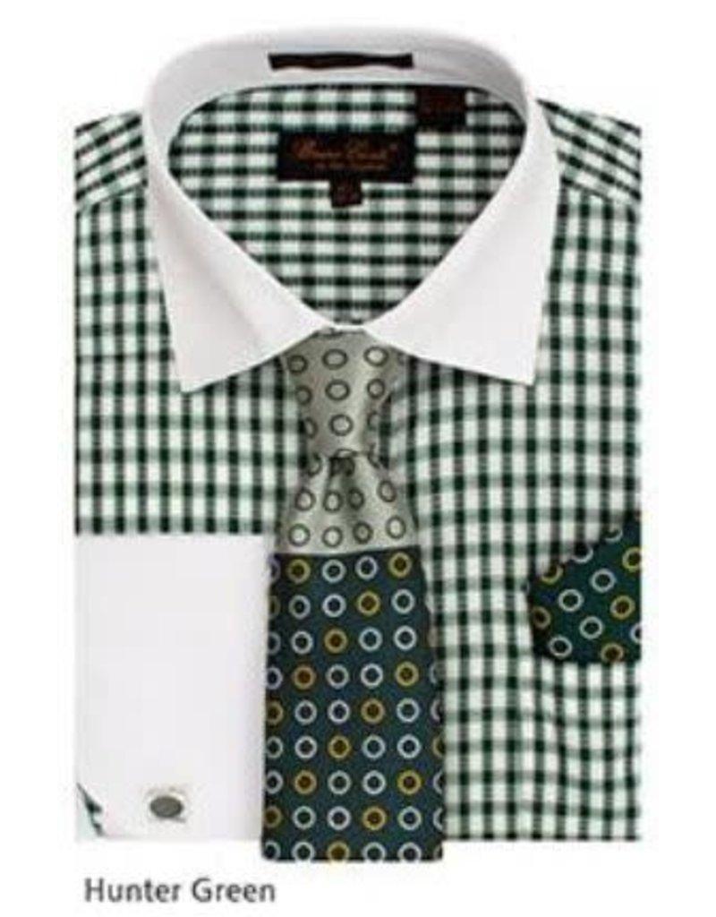 Bruno Conte Bruno Conte Shirt Set CS065 Green