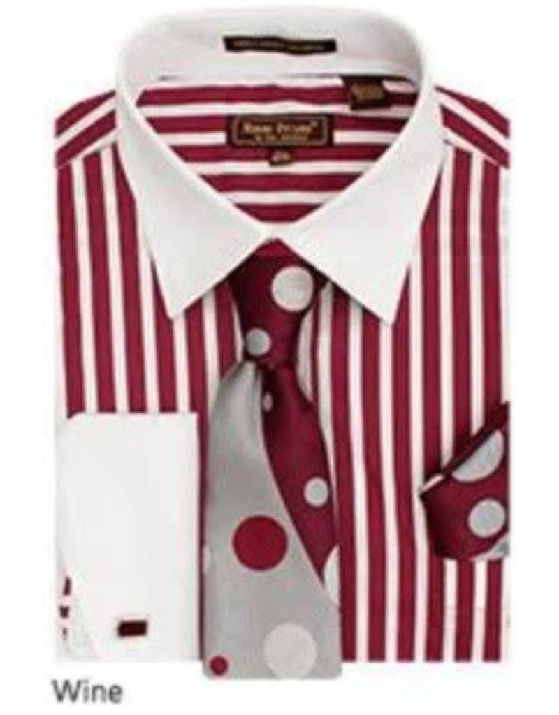 Henri Picard Henri Picard Shirt Set FC168 Wine