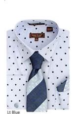 Henri Picard Henri Picard Shirt Set FC169 Blue
