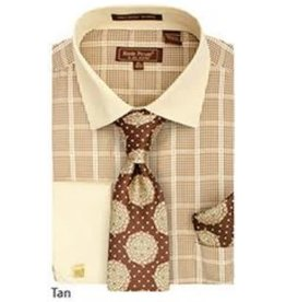 Henri Picard Henri Picard Shirt Set FC170 Tan