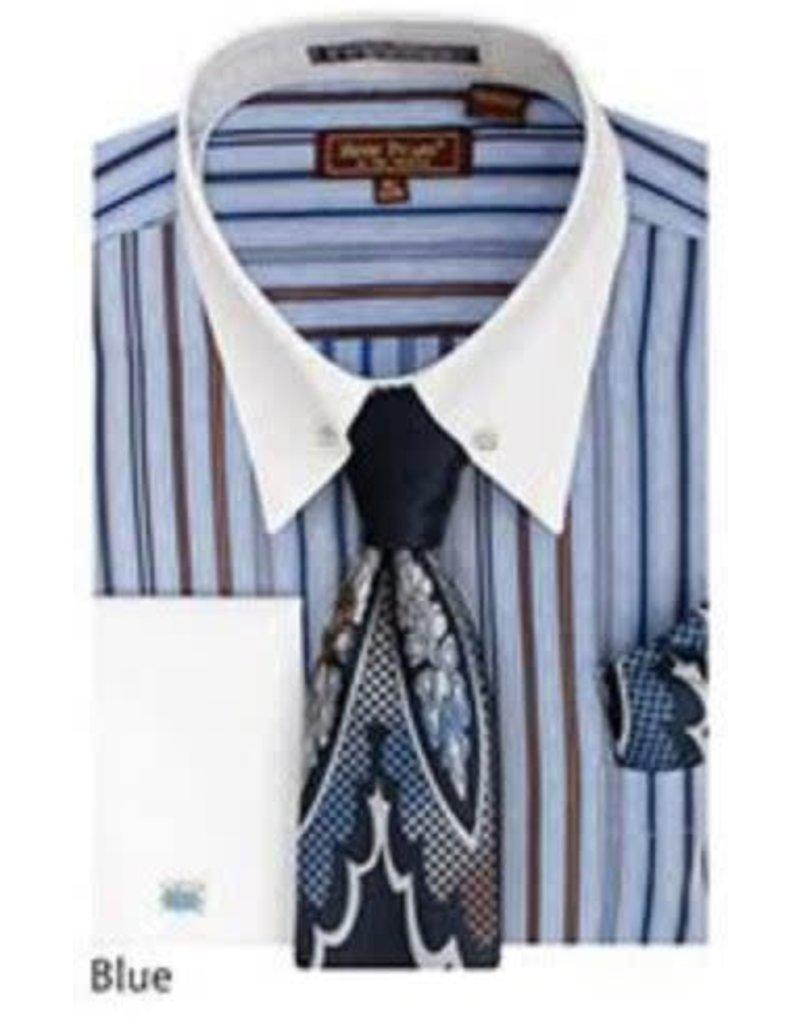 Henri Picard Henri Picard Shirt Set FC171 Blue
