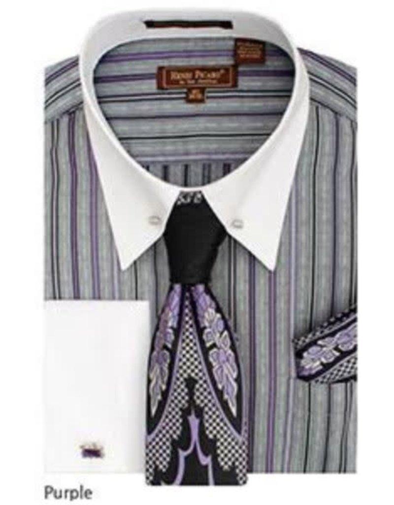 Henri Picard Henri Picard Shirt Set FC171 Purple