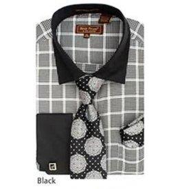 Henri Picard Henri Picard Shirt Set FC168 Black