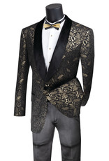 Vinci Vinci Slim Fit Blazer - BF1 Gold