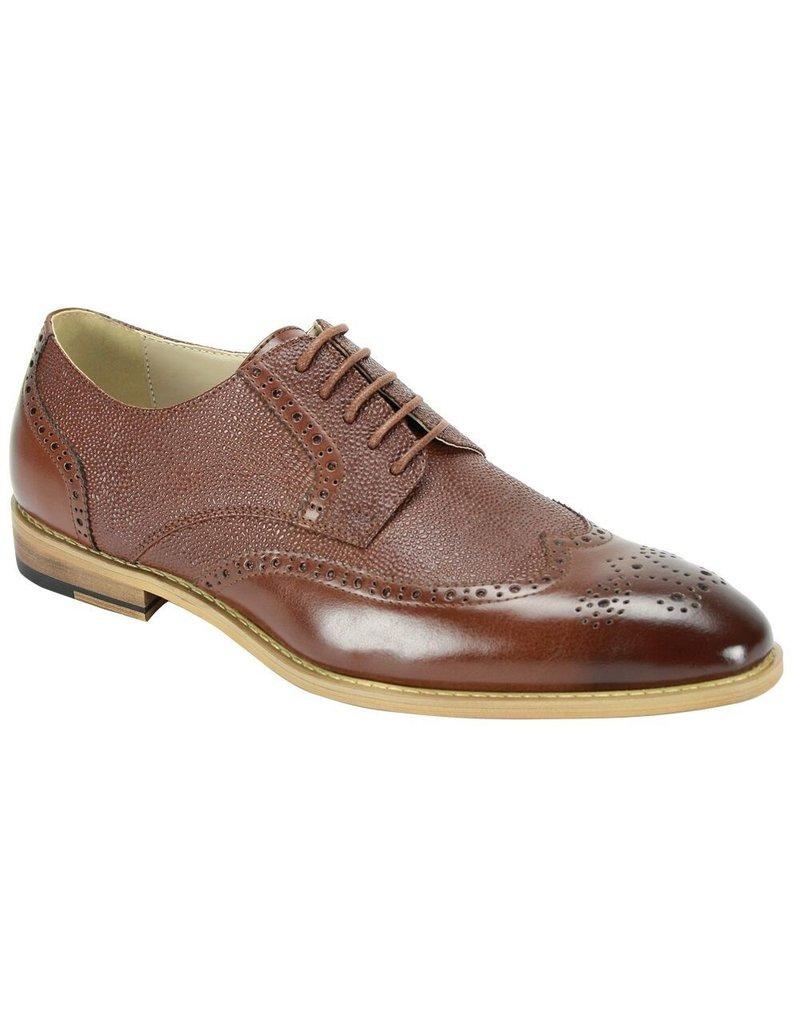 Antonio Cerrelli Antonio Cerrelli 6836 Dress Shoe - Cognac