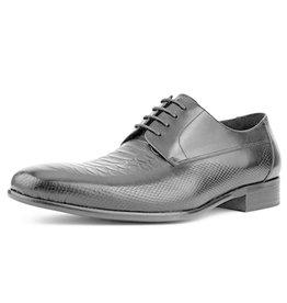 Asher Green Asher Green Leather Dress Shoe - AG1301 Black