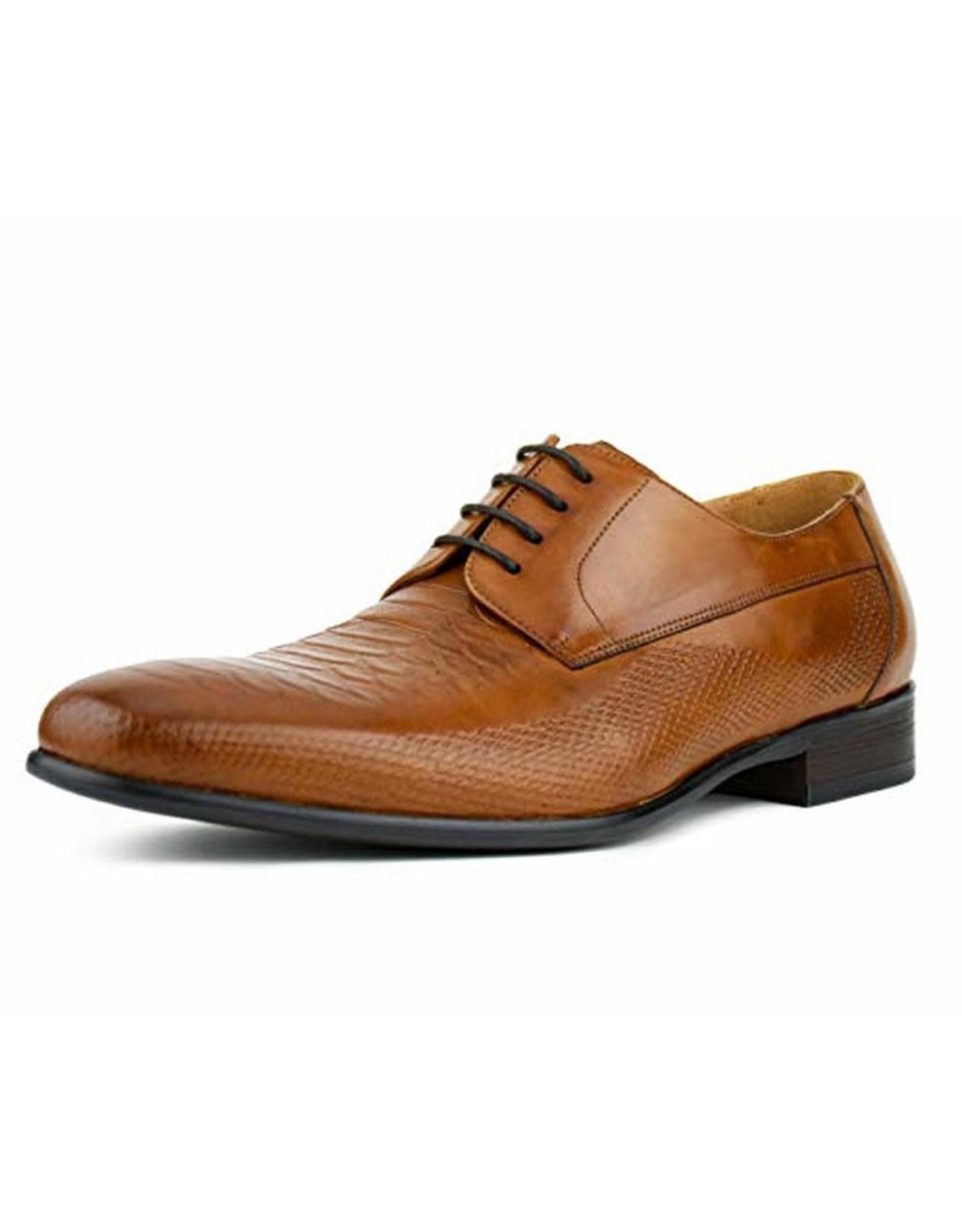 Asher Green Asher Green Leather Dress Shoe - AG1301 Tan