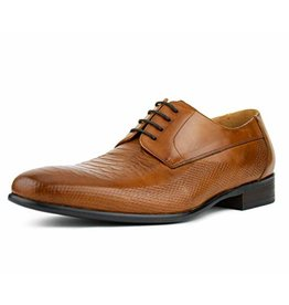 Asher Green Asher Green Leather Dress Shoe - AG1301 Tan