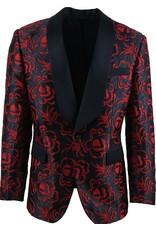 St. Patrick St. Patrick Slim Blazer - SPF508/2 Black & Red