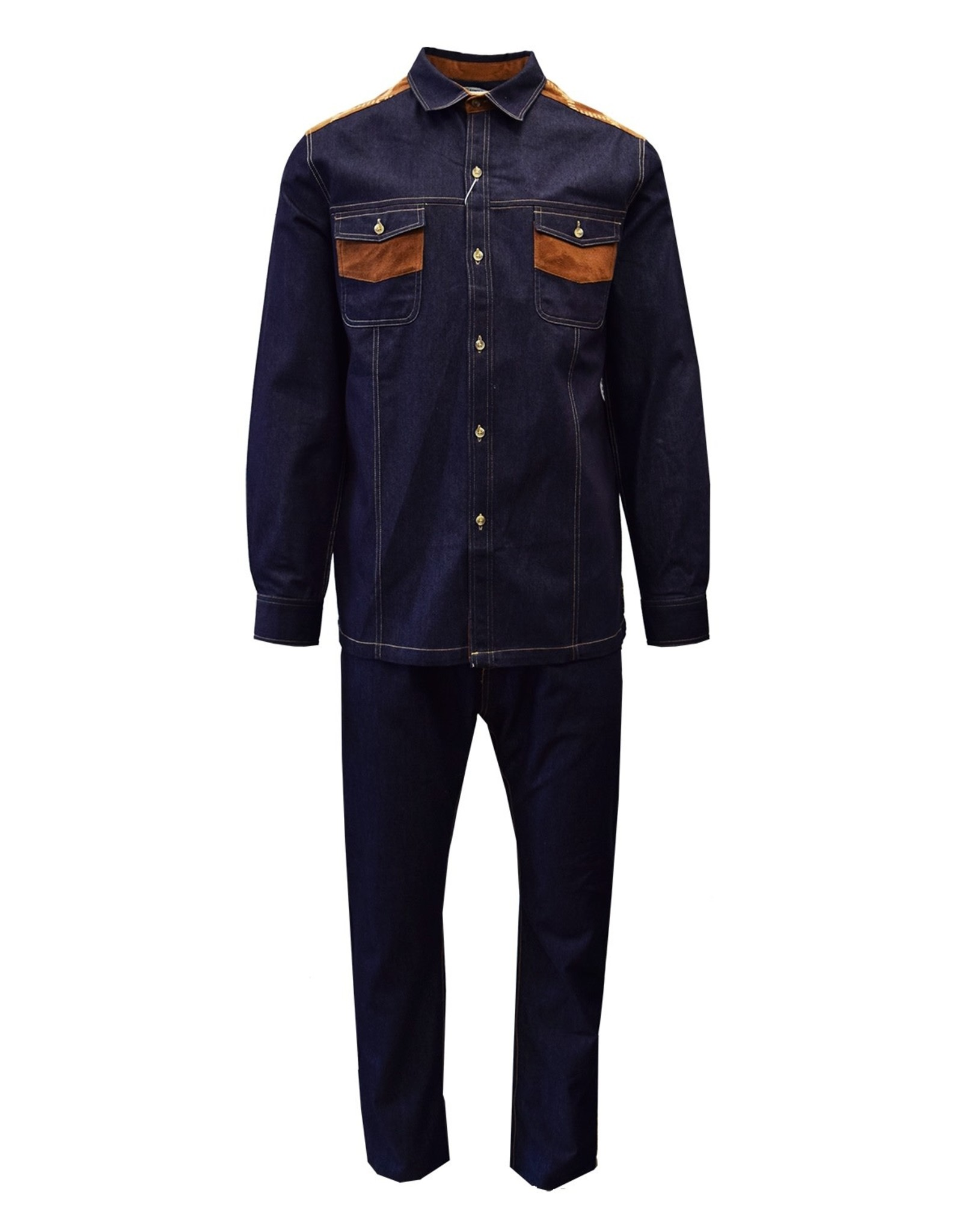 Stacy Adam Stacy Adams Denim Set - 1528 Indigo Blue
