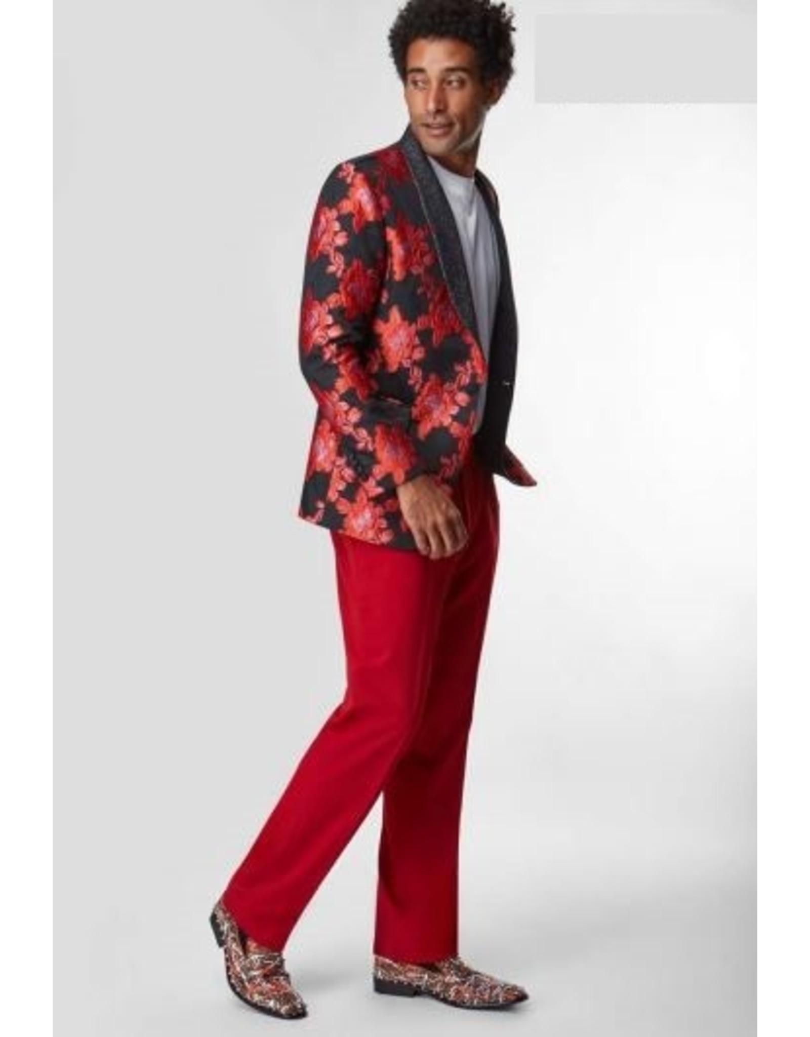 Saint Lorenzo Saint Lorenzo Floral Blazer - SW14 Red