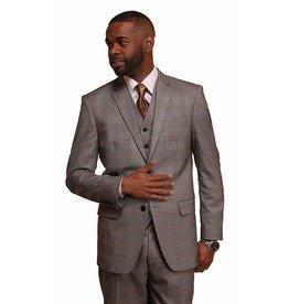Vitali Vitali Vested Suit - M1982 Gray