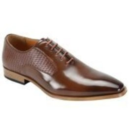 Steven Land Steven Land Dress Shoe - SL0089 Cognac