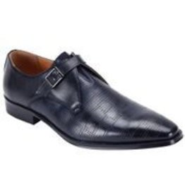 Steven Land Steven Land Dress Shoe - SL0088 Navy Blue