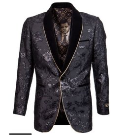 Empire Empire Blazer - ME276H03 Black/Gold