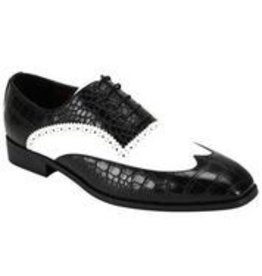 Antonio Cerrelli Antonio Cerrelli 6839 Dress Shoe - Black/White