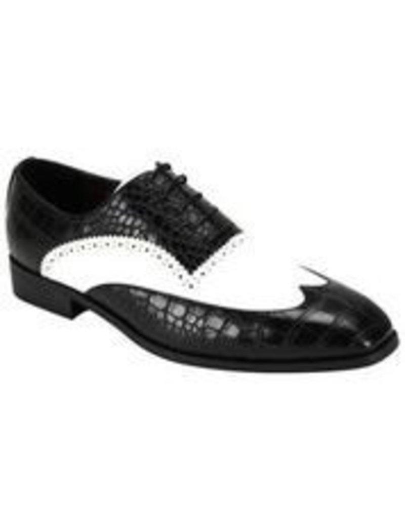 Antonio Cerrelli Antonio Cerrelli 6839 Dress Shoe - Black/White