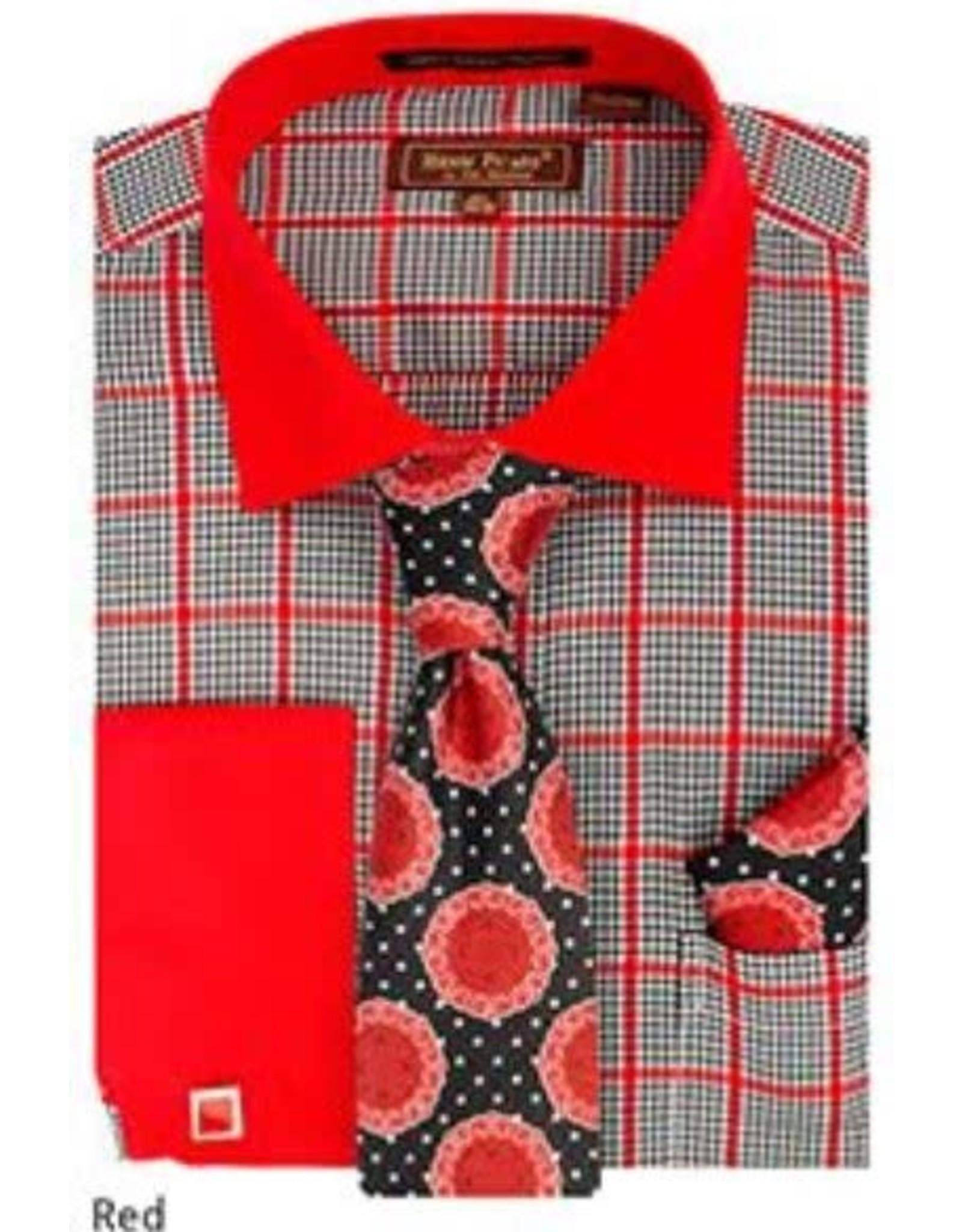 Henri Picard Henri Picard Shirt Set FC170 Red