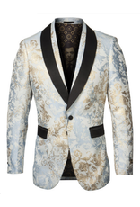 Empire Empire Blazer - ME279H02 Tan/Blue