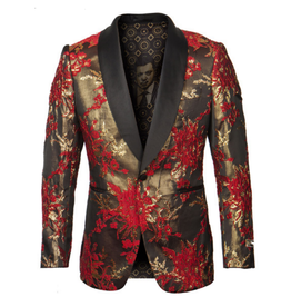 Empire Empire Blazer - ME278H01 Red/Gold