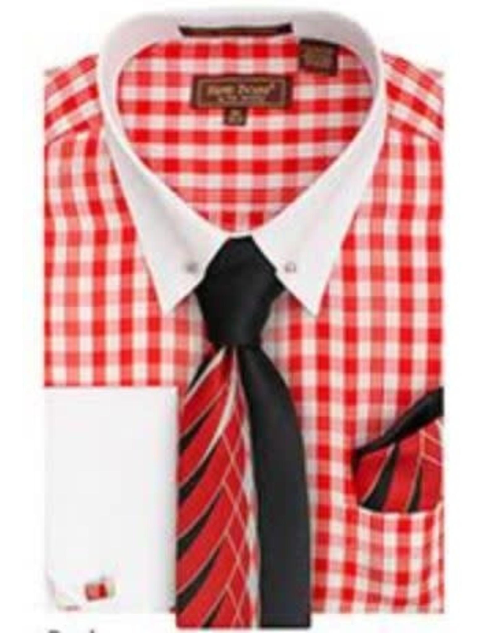 Henri Picard Henri Picard Shirt Set FC172 Red