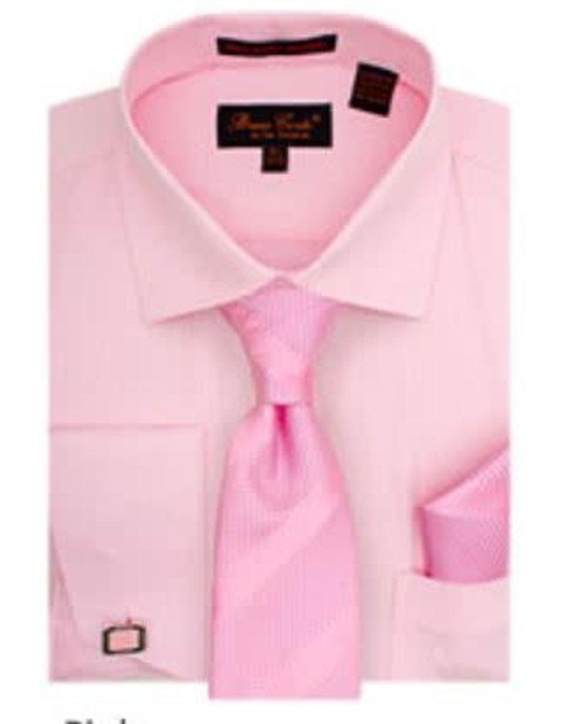 Bruno Conte Bruno Conte Shirt Set BC1102 Pink
