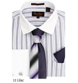 Bruno Conte Bruno Conte Shirt Set CS073 Lilac