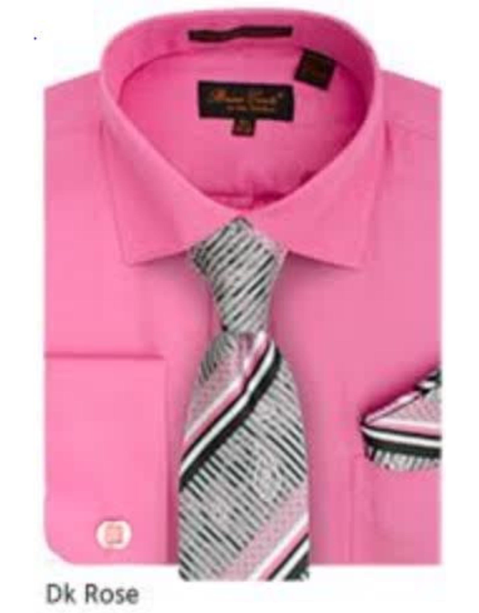 Bruno Conte Bruno Conte Shirt Set CS074 Rose